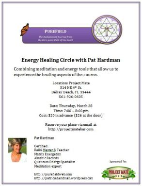 Energy Healing Circle with Pat Hardman
